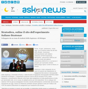 askanews - Website