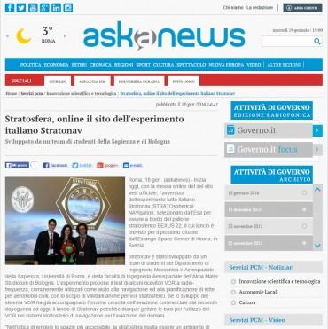 askanews - Website