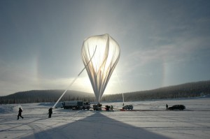 BEXUS balloon launch in Kiruna, Sweden